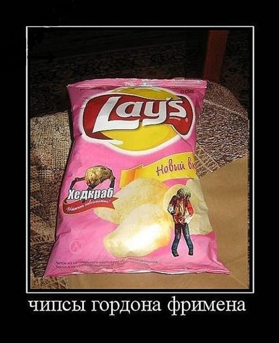 Чипсы Гордона Фримена
