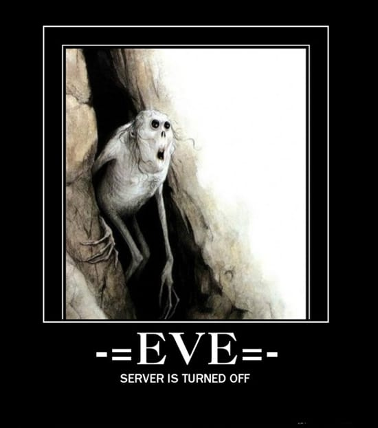 EVE: сервер выключен
