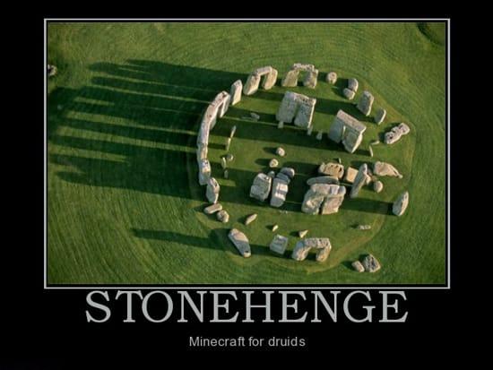 Стоунхендж — Майнкрафт для друидов