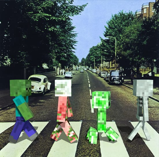Minecraft на улицах твоего города