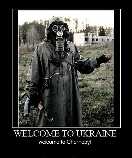 Добро пожаловать в Чернобыль
