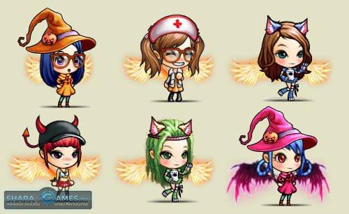 Герои онлайн-игры «Бумз!»