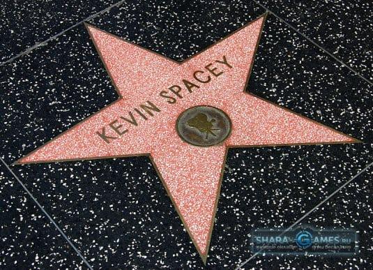 Pdtplf Кевин Спейси В Голливуде на «Аллее славы»