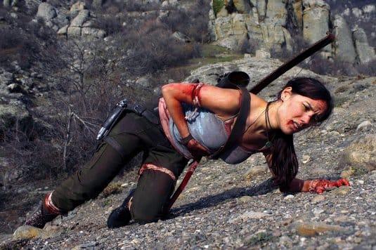 Косплей Tomb Raider от Tanyacroft