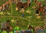 Поселение «Лес туманов» и его задание. Так же изображен игровой чат.
