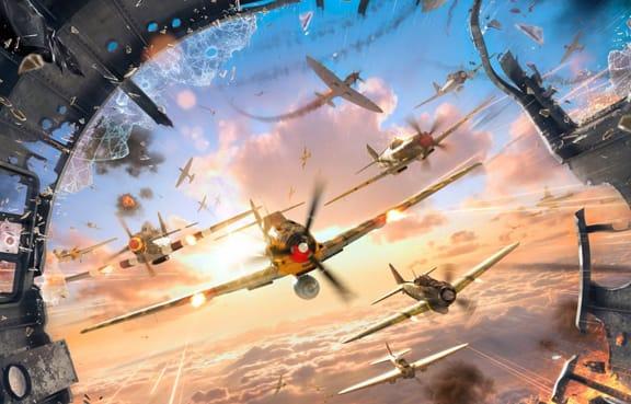Ожесточенный воздушный бой
