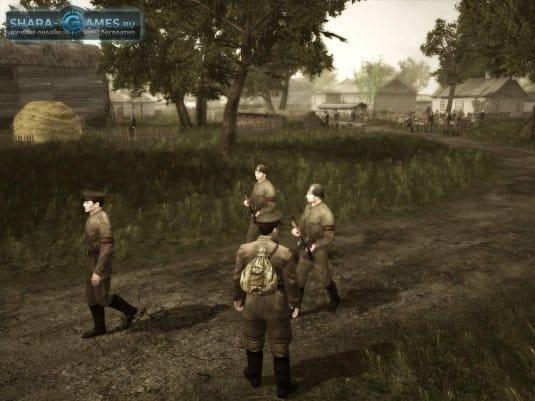 Советская армия. Патруль