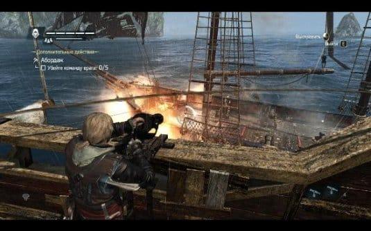 Assassin s Creed 4: Black Flag —управление кораблем