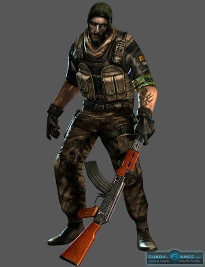 Подопытный солдат