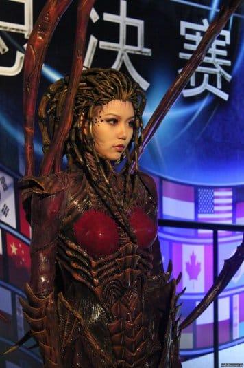 Косплей от неизвестной китайской девушки