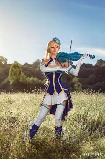 Анна Молева — косплей на Prime World №3