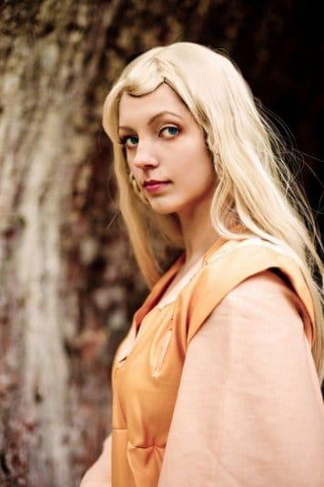 Анна Молева — косплей на princess Mellisande №4