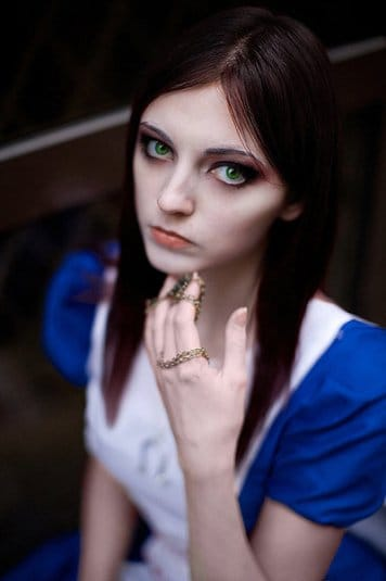 Анна Молева — косплей на Алису №1