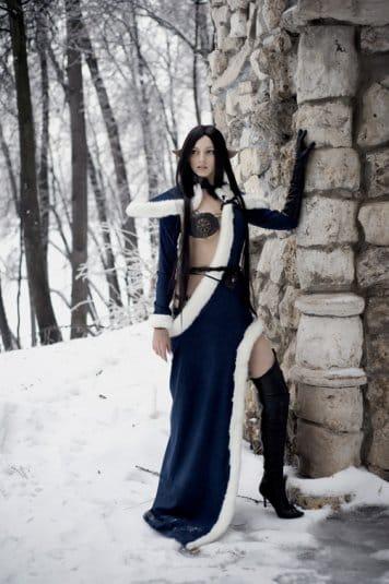 Анна Молева — косплей на Сильфиду №3