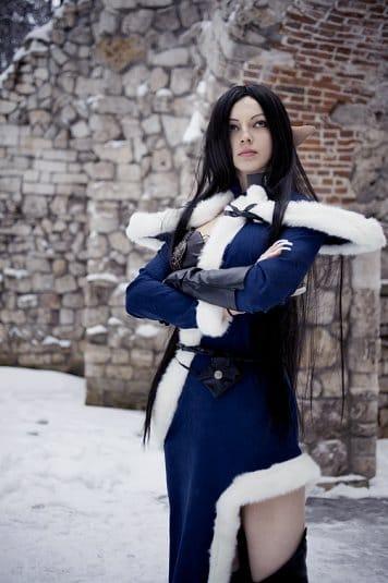 Анна Молева — косплей на Сильфиду №5
