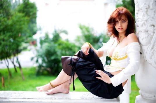Анна Молева — косплей на Элику №3