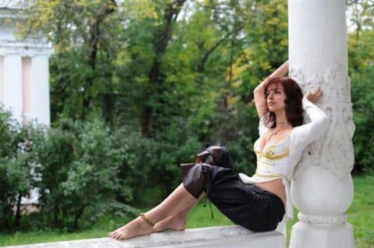 Анна Молева — косплей на Элику №4