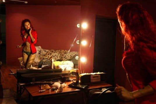 Анна Молева — косплей на Ядовитый Плющ №1