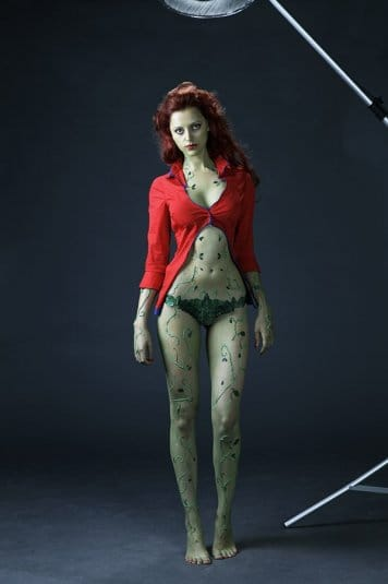 Анна Молева — косплей на Ядовитый Плющ №6