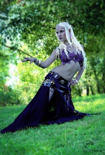 Косплей на темных эльфов