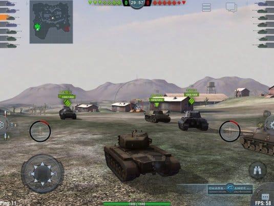 Мобильный free-to-play MMO-экшен