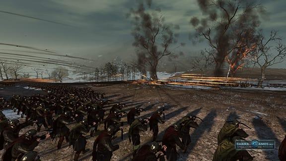 Во время боя