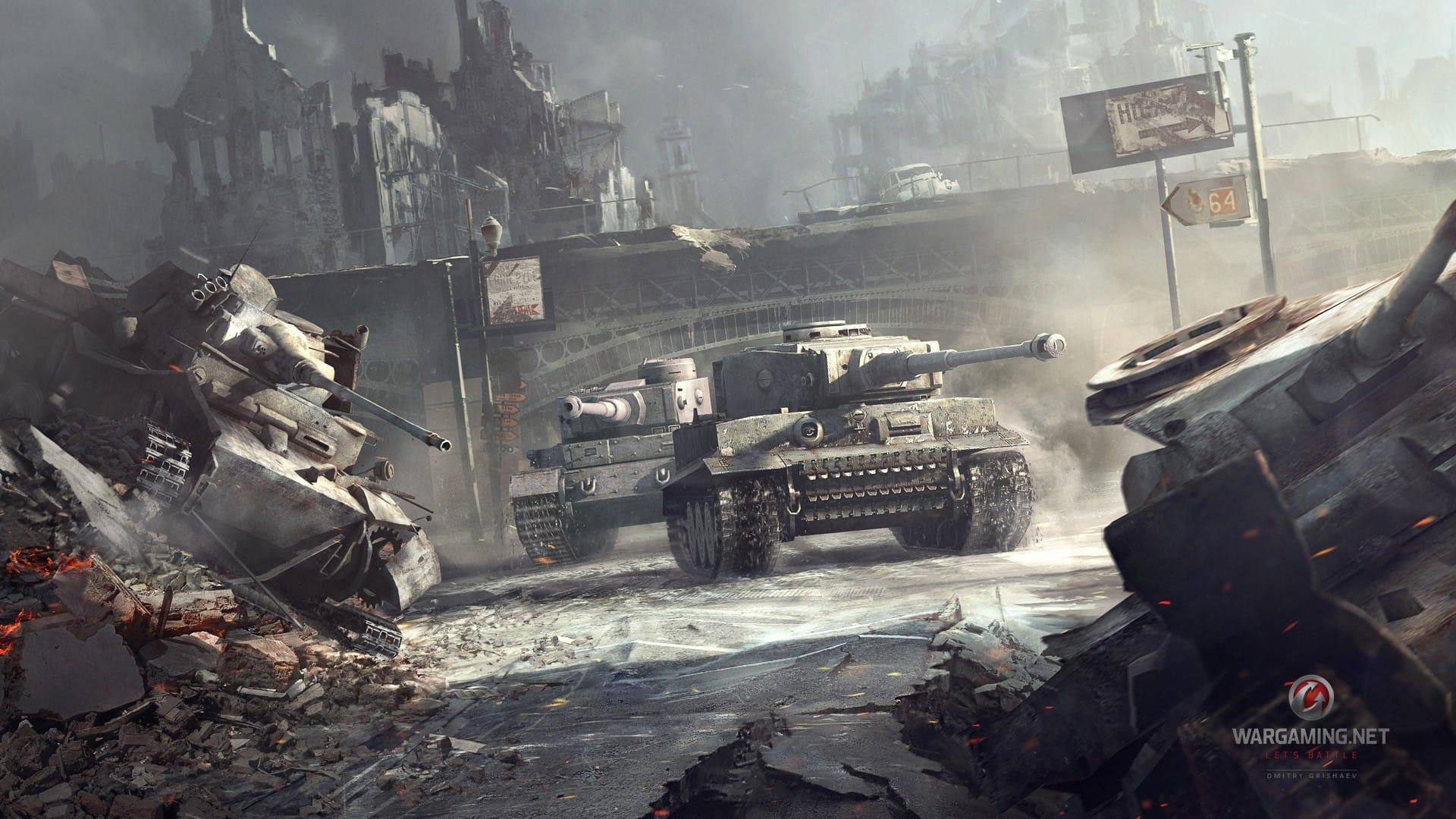 The Unity World of Tanks