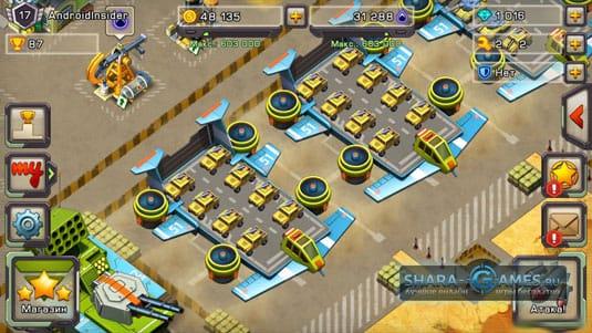 17 уровень игрока, площадки джипов с пулемётами