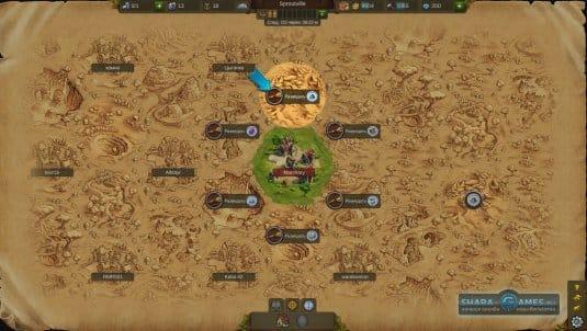 Исследование игрового мира
