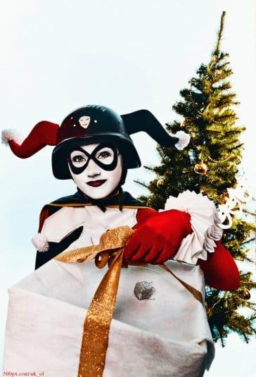Новогодняя Harley Quinn #1