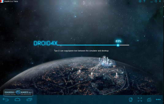 Загрузка эмулятора Droid4X