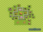 Схема строения базы для удачного фарма. Вариант 2
