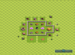 Схема строения базы для удачного фарма. Вариант 7
