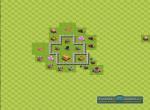 Схема базы при игре с уклоном на защиту трофеев. Вариант 1