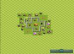 Схема базы при игре с уклоном на защиту трофеев. Вариант 11
