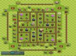 Примеры расстановки базы в Clash of Clans. Часть 2