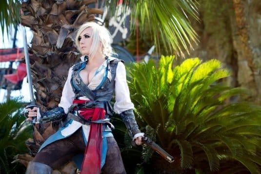 Assassin's Creed Cosplay Jessica Nigri #1