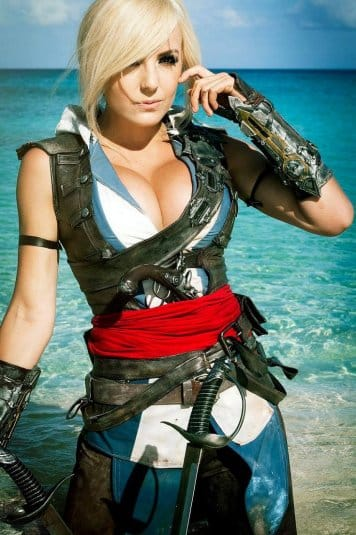 Assassin's Creed Cosplay Jessica Nigri #8
