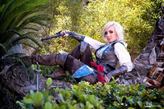 Assassin's Creed Cosplay Jessica Nigri #12