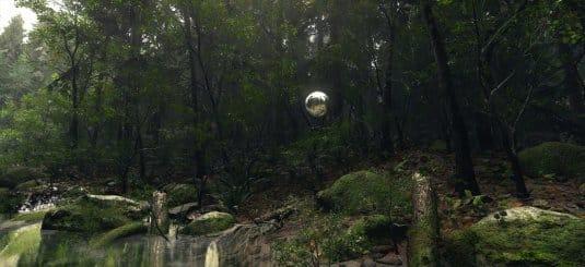 Лесной пейзаж. Работа Дэмиана Стемпневски