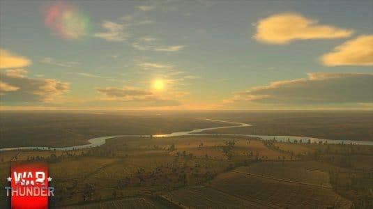 Обновленное небо в War Thunder. Скриншот 3