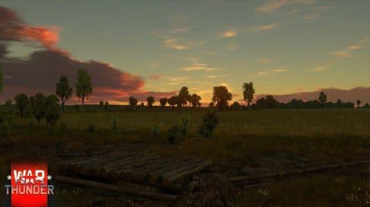 Обновленное небо в War Thunder. Скриншот 4