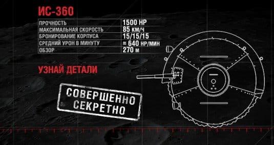 Подробнее о танке ИС-360. (Шаротанк)