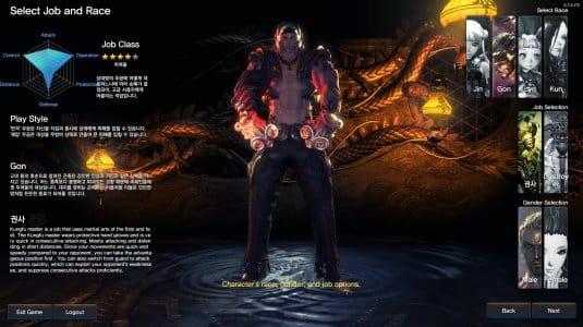Персонаж класса Kung-Fu Master