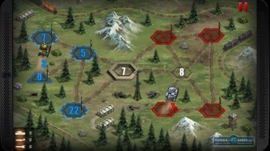 Скриншот сражения за позиции