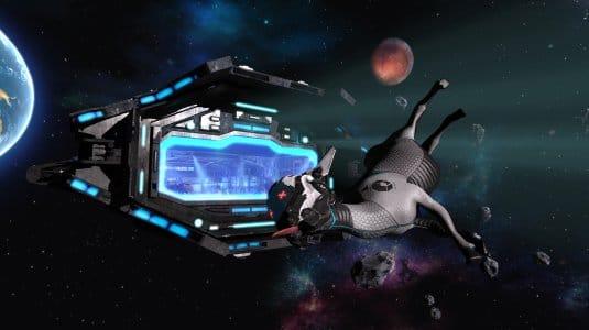 Симулятор козла в космосе. Скриншот 5