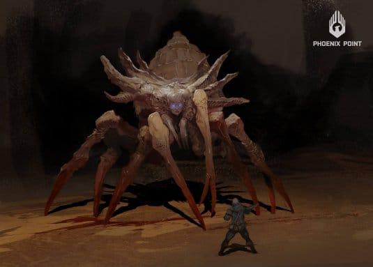 Эскиз монстра из игры Phoenix Point. №2