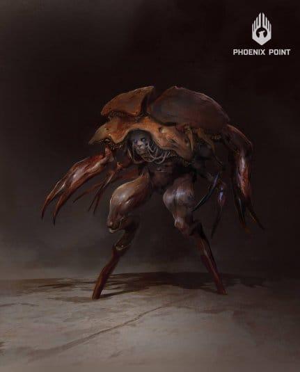 Эскиз монстра из игры Phoenix Point. №3