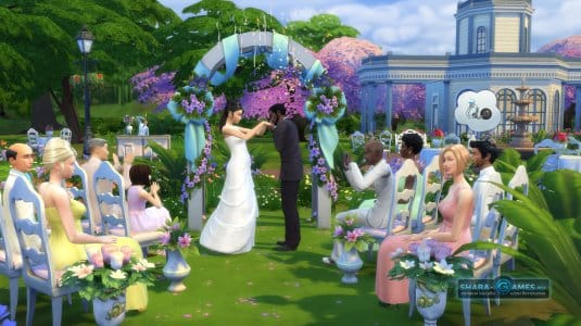Свадьба в игре