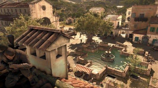 Sniper Elite 4. Скриншот №7